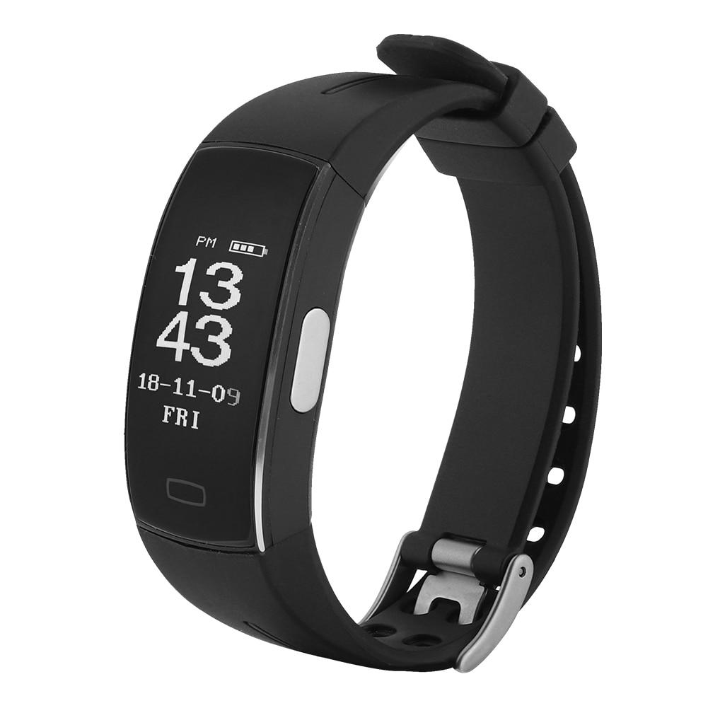PPG+ECG IP67 Waterproof Smart Bracelet Sports Watch Heart Rate Monitor Wristband Pedometer drop ship
