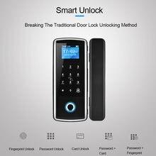 Дверной замок eseye со сканером отпечатков пальцев электронный