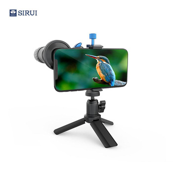 Sirui 400mm telephoto mobile phone lens kit, 18 times telescope function + Mini tripod + mobile phone lens bracket old school motorcycle gauges
