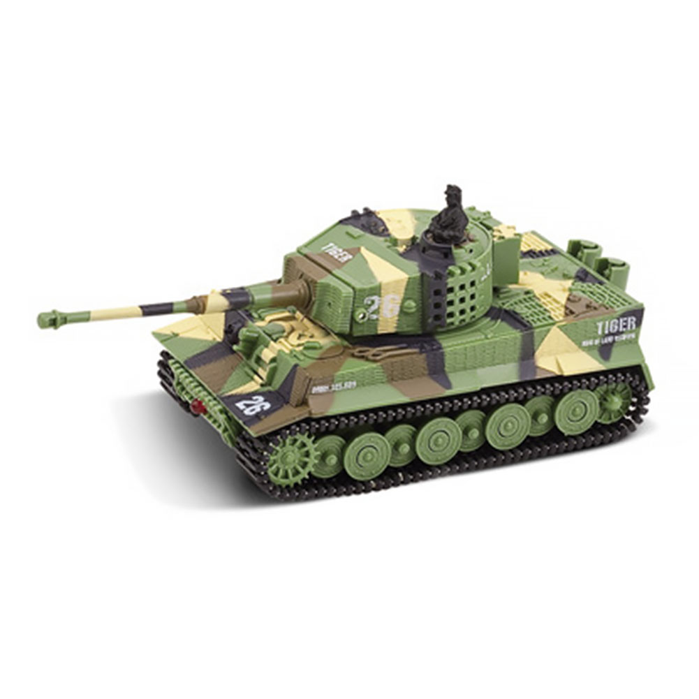 1:72 Mini Tiger Battle RC Tank Remote Radio Control Panzer Armored Vehicle Children Electronic Toys For Boys Kids Gifts 4 Colors