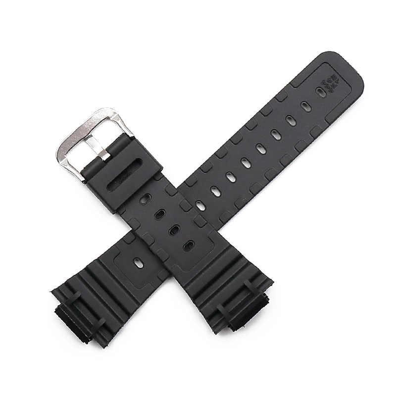 Dây đeo nhựa người đàn ông của thể thao không thấm nước pin khóa phụ kiện đồng hồ cho Casio G-SHOCK GW-5000 DW-5600E BBN M5610 nữ ban nhạc đồng hồ