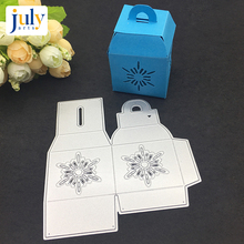 Julyarts Cutting Dies Box Design Card Making Metal Crafts Manual Gife For Painting Scrapbooking Embossing