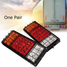 2 шт. 12 v/24 v 32 светодиодов Стоп задний поверните сигнала грузовик остановить сзади хвостовой индикатор Обратный лампы фонари заднего хода для прицепов грузовик