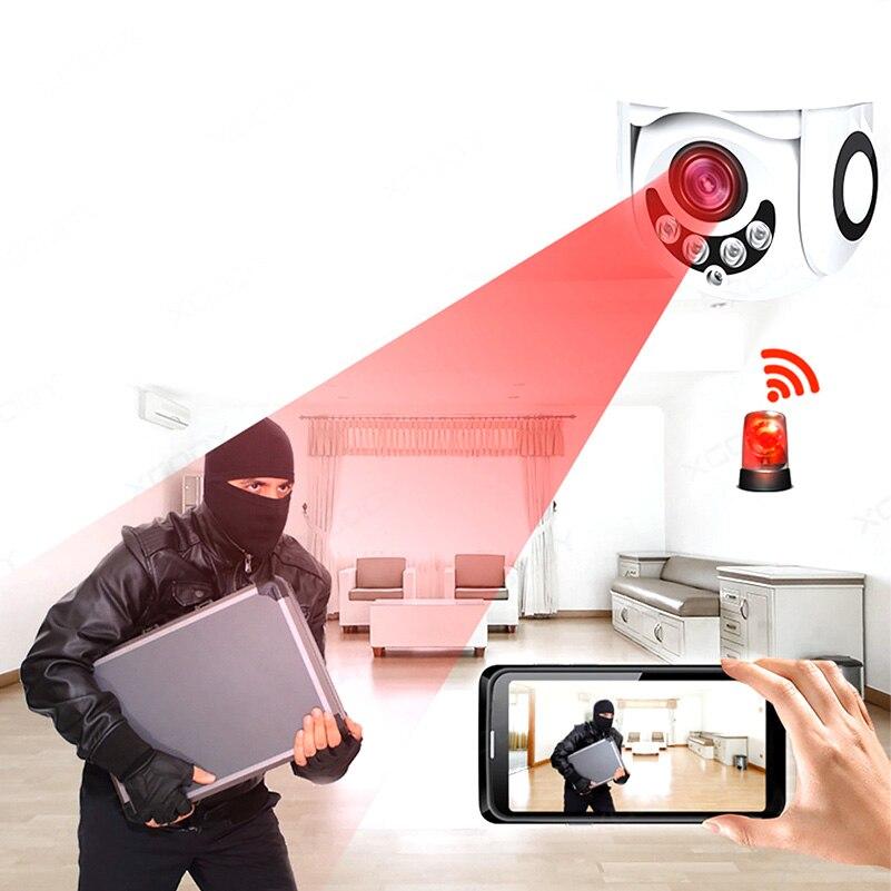 GZDL caméra IP étanche extérieure HD 1080 P enregistreur vidéo Vision nocturne moniteur à domicile DVR9388 - 4