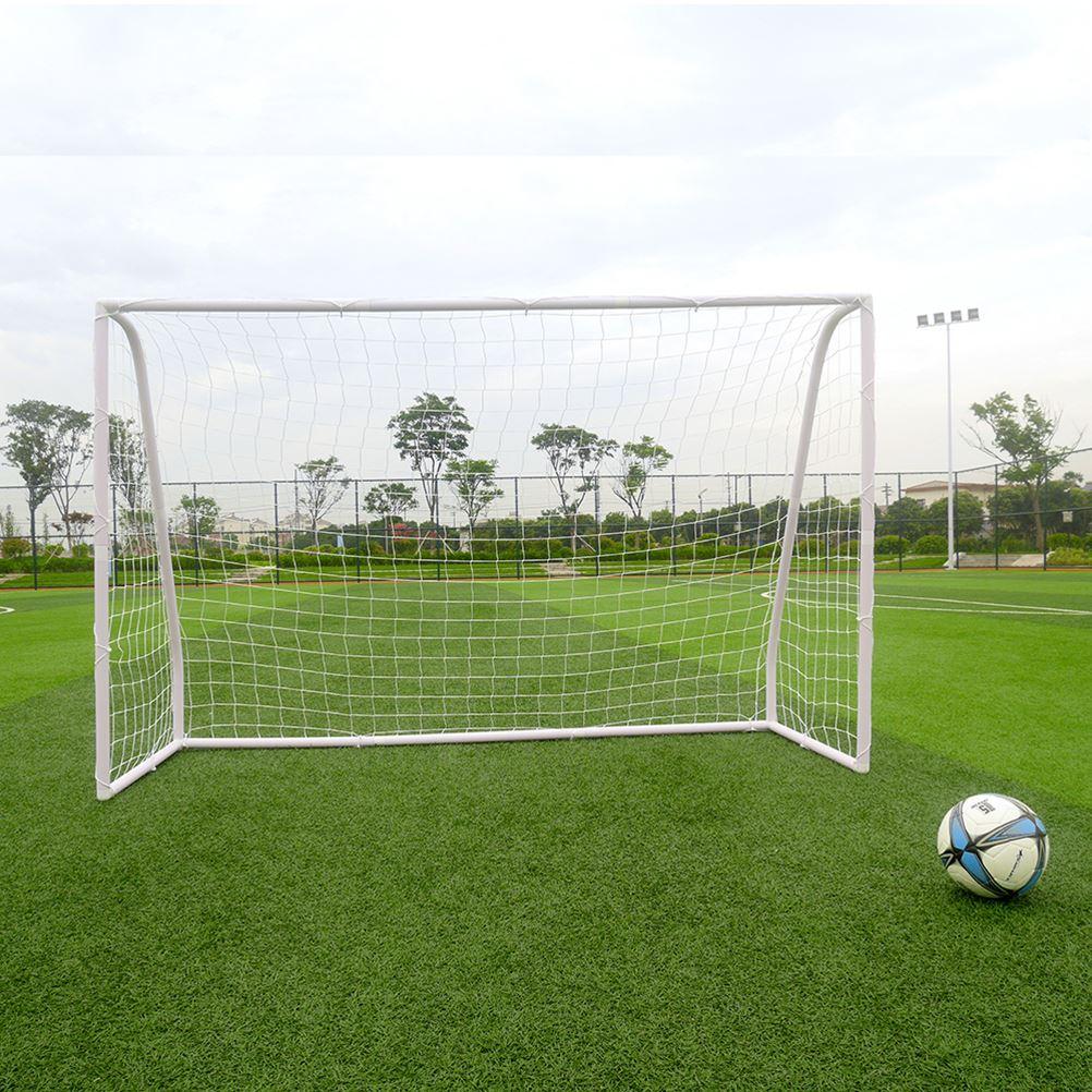 Porte en plastique professionnelle de football de Tube de PVC de 2.45 m pour l'école communautaire de plage