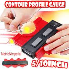 5/10 Inch Professional Magnetic Contour Profile Gauge Duplicator Shape Woodwroking Tool Tiling Laminate Tiles General Tools