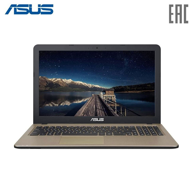 "Ноутбук ASUS X540LA (Pronet xMas Edition) Intel i3-5005U/4Gb/256Gb SSD/15.6"" FHD Anti-Glare/ENDLESS Chocolate Black (90NB0B01-M27580)"