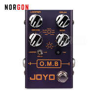 Joyo OMB Looper and Drum Machine Guitar Effect Pedal Electric Bass Stompbox Accessories Revolution R Series