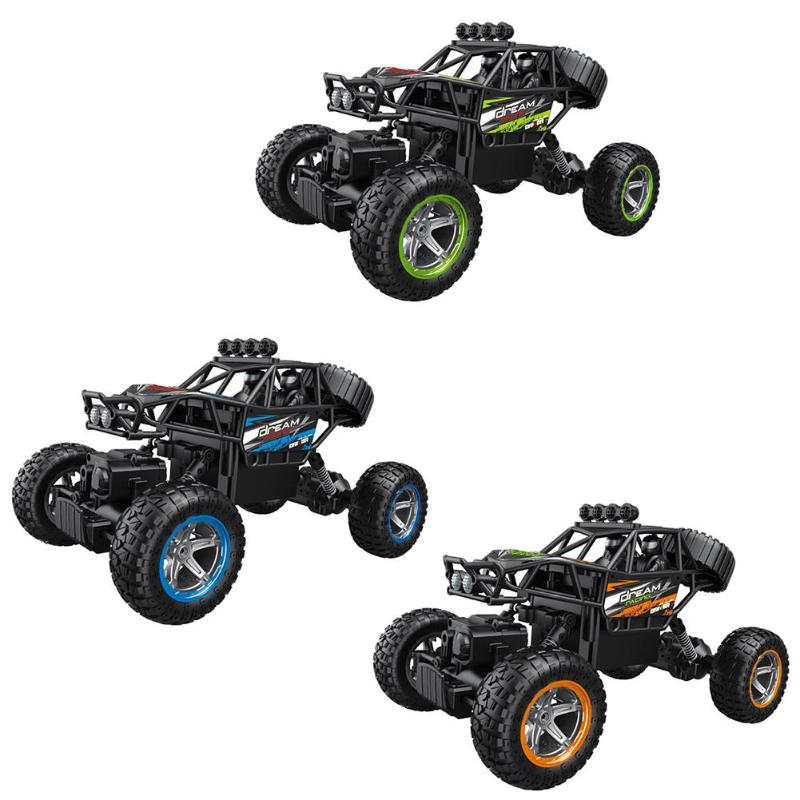 Children RC Cars Gifts 1:14 2.4GHZ Four Wheel Drive C11 Off Road Climbing Remote Control Car Model Toy Kids Educational Toys