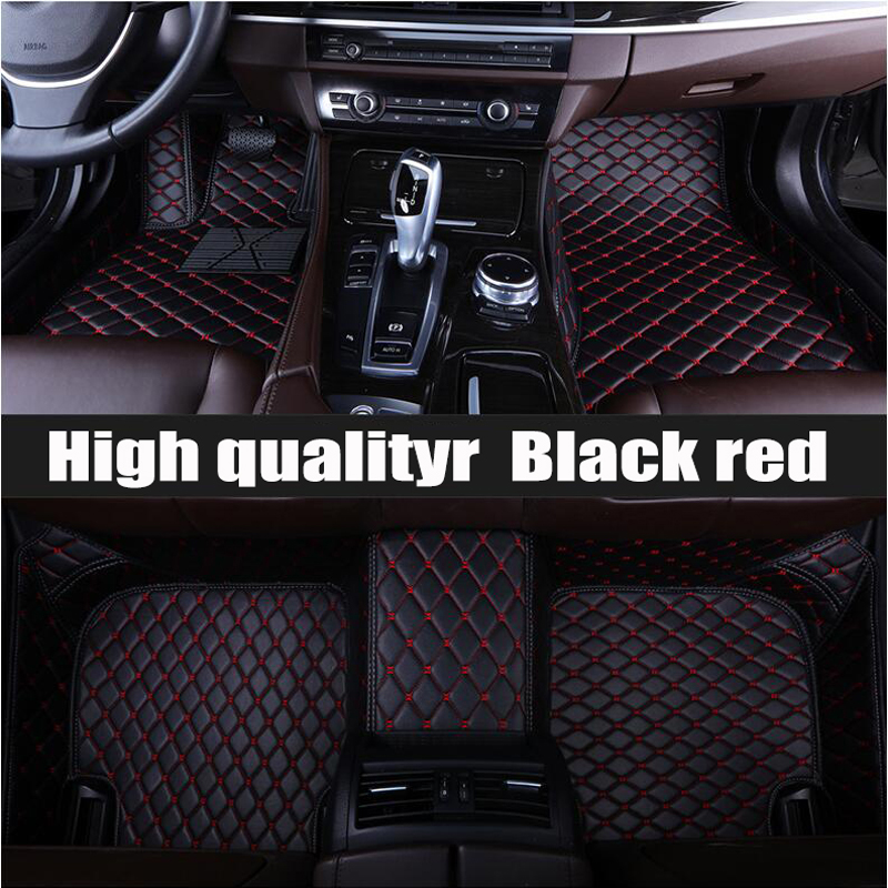 ZHAOYANHUA Custom fit car floor mats for Volkswagen Beetle CC Eos Golf Jetta Tiguan Touareg sharan 5D carpet floor liner
