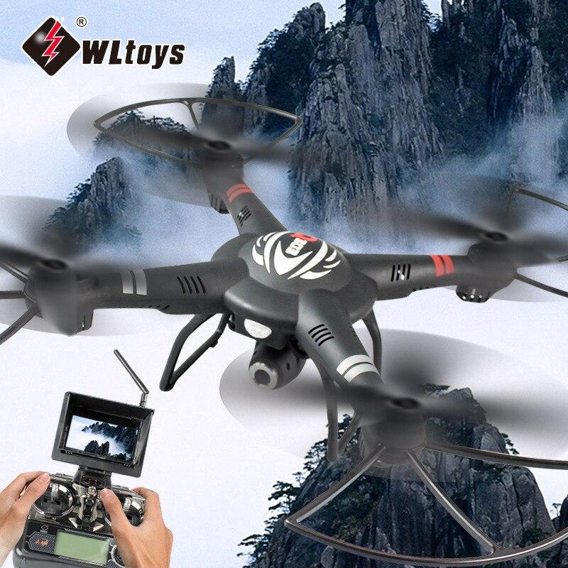 Wltoys q303 novos drones rc 5.8g fpv 720 p câmera zangão 4ch 6 eixos giroscópio rtf rc quadcopter led luz modo headless helicóptero - 3