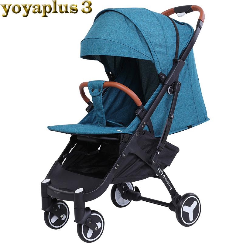 YOYA PLUS baby strollers ultra-lightweight folding can sit can lie high landscape umbrella baby trolley summer and winter rak dinding minimalis diy