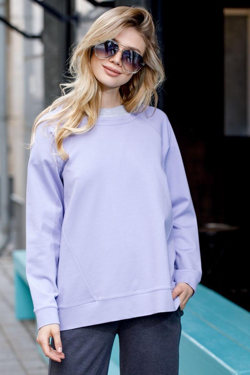 Sweatshirt 4702000-71 textured shearling sweatshirt