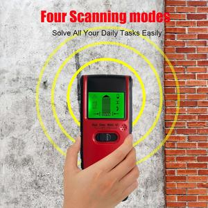 Image 3 - 4 In 1 Metal Detector Metal Wood Studs AC Voltage Live Wire Detect Wall Scanner Electric Box Finder Wall Detector Wall Scanner