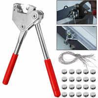 Zange 20 PCS 10*5 MM Versiegelt bohnen Abdichtung Draht Blei Dichtung Abdichtung Zange Bremssättel für Dichtung Wasser Meter anti-diebstahl abdichtung
