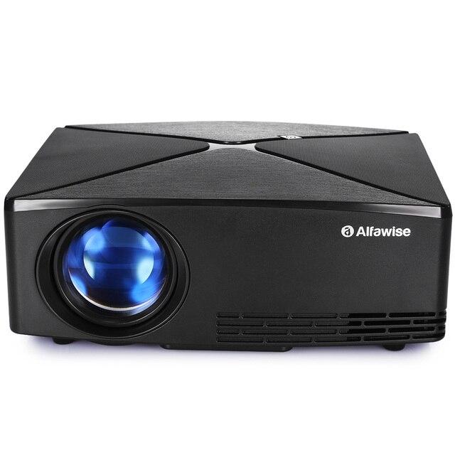 Alfawise A80 2800 Lumens BD1280 Chiếu Thông Minh Cơ Bản Phiên Bản 1080 P Bluetooth Chiếu MỸ Cắm