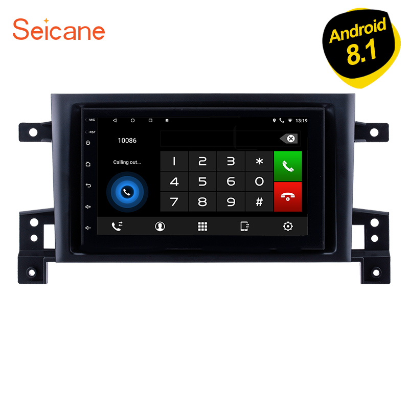 Seicane 2Din 7 Android 8,1 автомобилей Радио для Suzuki SX4 2006 2007 2008 2009 2010 2011 2012 мультимедийный плеер с Bluetooth WI-FI