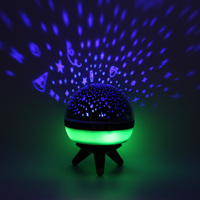 Creative Rotating Star Projector Lamp Star Astro Sky Cosmos Night Light Projector Lamp Starry Bedroom Romantic Home Decor