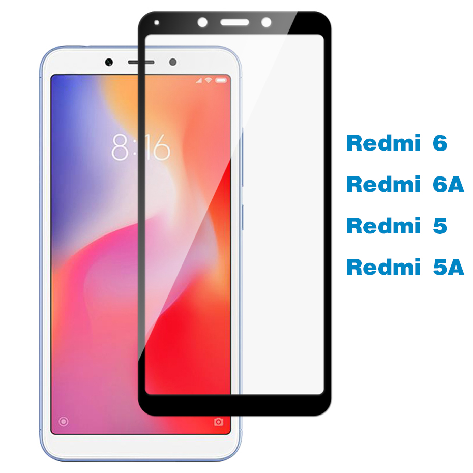Protective Glass For Xiaomi Redmi 6A 5A 4A S2 Case Tempered Glass For Xiaomi Xaomi Xiomi Redmi 5 Plus 6 Pro A6 A5 6 A Film Cover image