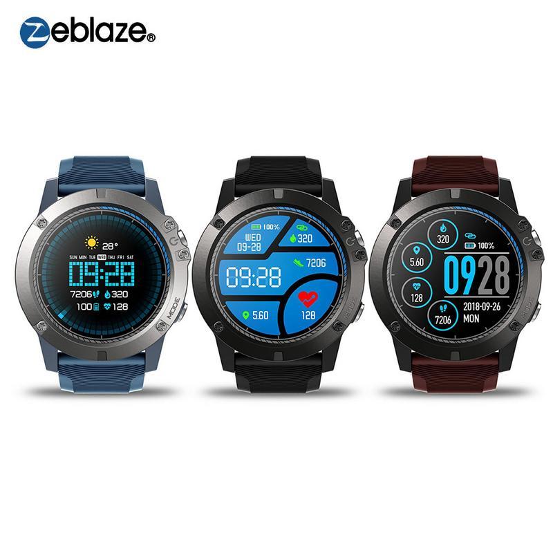 Zeblaze VIBE 3 PRO montre à bande intelligente couleur écran Bracelet fréquence cardiaque activité Fitness Tracker Bracelet électronique intelligent