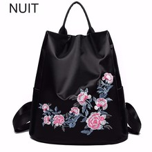 Woman Bags Pu Leather Fashion Oxford Bag Single Shoulders Students Flowers Backpacks For Girls Teenagers Bookbag