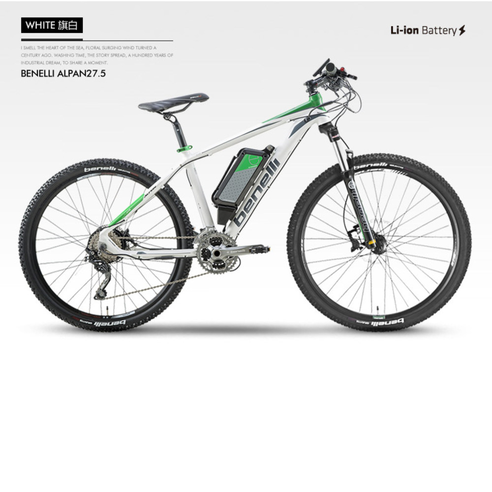 27.5 Inch Luxury Mountain Electric Bicycle Lithium Trolley Bicycle Power Instead Of Walking Electric Smart Mountain Bike