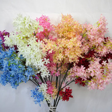 Simulated Encryption of Cross Cherry Blossom Wedding Layout Flower Road Induction Home Decoration Silk Fake Flowers
