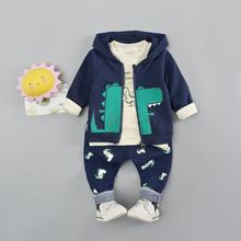 купить Baby boy clothes suit kids children clothes boy 2019 new fashion children clothing set kids clothes print children clothing suit по цене 1550.12 рублей