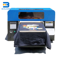 Rainbow industrial fast large format 3d digital fabric t shirt dtg printer a2 direct to garment printer