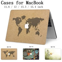 Voor Nieuwe Notebook MacBook Laptop Sleeve Case Voor MacBook Air Pro Retina 11 12 13.3 15.4 Inch Met Screen Protector toetsenbord Cove