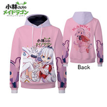 Hot Kobayashi-san Chi no Maid Dragon Ma Miss Kobayashis Cosplay Hoodies Standard Hooded Winter Unisex Sweatshirts