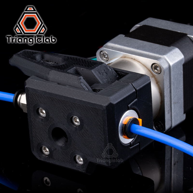 Trianglelab 2.85mm/3.0mm 1.75MM SV QR EXTRUDER PETG Material Dual Drive Extruder For  Um2 ENDER3 CR10 3d Printer