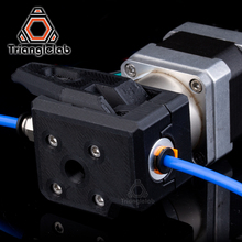Trianglelab 2,85 мм/3,0 мм 1,75 мм SV QR экструдер материал ПЭТГ двойной привод экструдер для um2 ENDER3 CR10 3d принтера