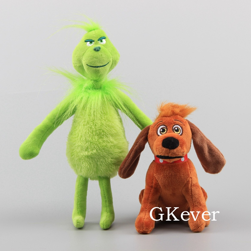 Grinch Stole Christmas Dog.How The Grinch Stole Christmas Stuffed Plush Toy Max Dog