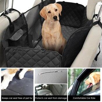 Car Seat Cover for Pet Rear Seat Hammock Dog Car Hammock with Mesh Window Pet Backseat Protector Mat Pet Seat Cover Гамак