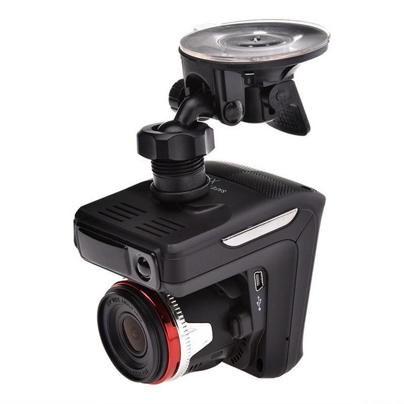Professional Multi-functional New 2 In 1 2.4 Inch LCD HD Display 1080P 170 Degree Car DVR Radar Laser Speedometer Camera
