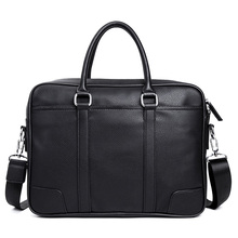 KUDIAN BEAR Brand Men Briefcase Leather Bags Handbags Office