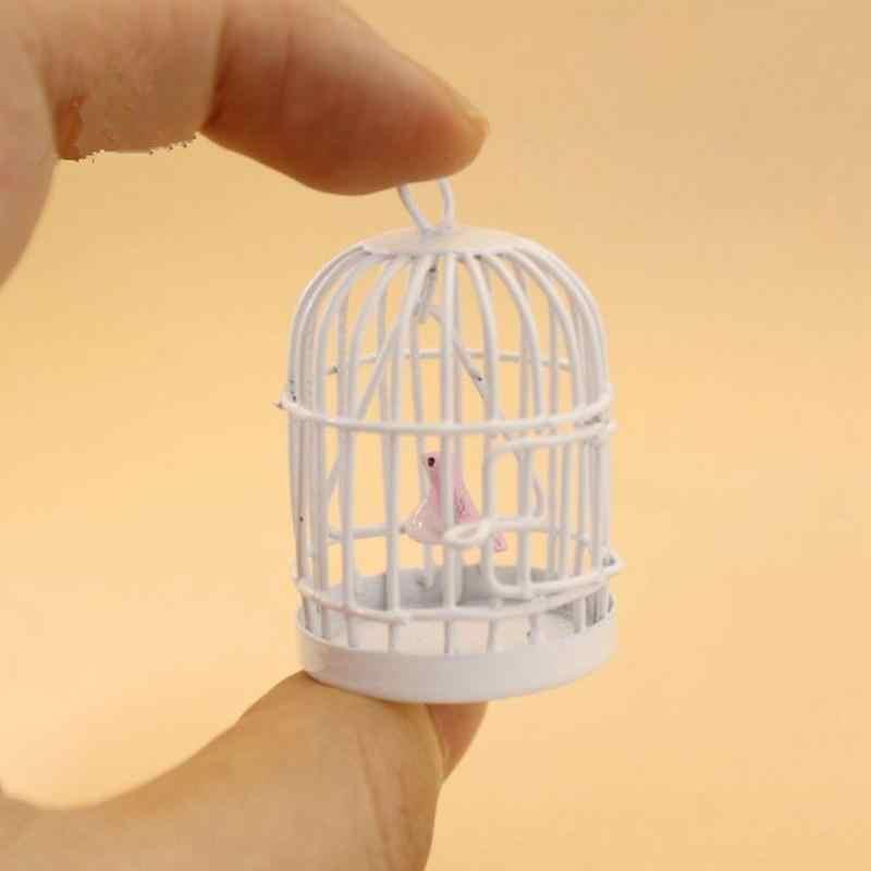 Rctown 플레이 하우스 레트로 미니 3d 나무 소파 스트라이프 쿠션 수하물 인형 장난감 어린이 선물 인형 액세서리