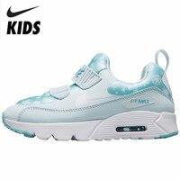Nike Air Max детская обувь новый шаблон для мальчиков и девочек air подушки обувь детей кроссовки # AA2956 400