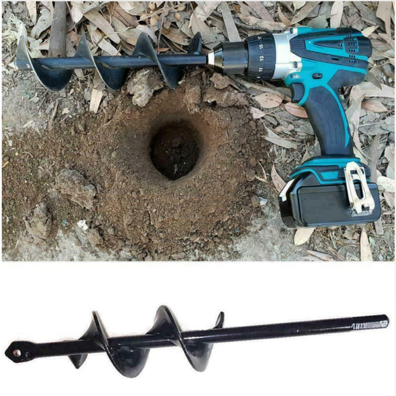 Earth Auger Hole Digger Tools Planting Machine Drill Bit Fence Borer Petrol Post Hole Digger Garden Tool Garden Essential