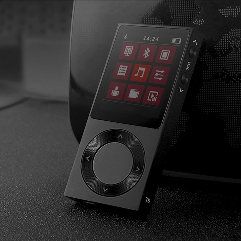Benjie T6 lecteur Mp3 Hifi Portable Bluetooth 4.0 Portable Dsd Hifi son lecteur de musique sans perte