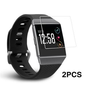 Image 2 - Hot Bán 2 PCS Vòng Đeo Tay Thông Minh HD Explosion Proof Ultra Mỏng Bảo Vệ Màn Hình Rõ Ràng Xem Cho Fitbit Ionic smartwatch New 2019