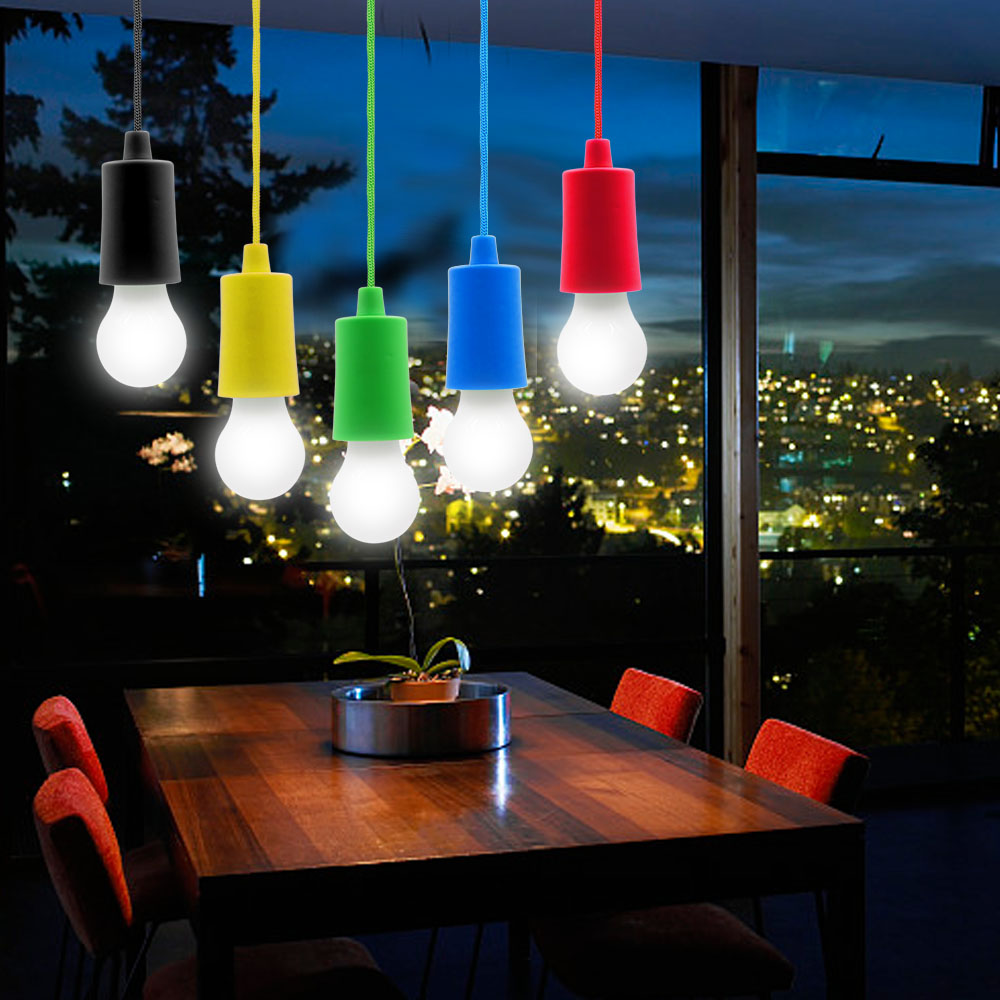 Us 2 8 30 Off Pull Cord Light Bulb Outdoor Garden Camping Hanging Led Lamp Chandelier Portable Smart Bbq Leuchte Licht In