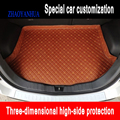 ZHAOYANHUA пользовательские подходящие автомобильные коврики для багажника Ford S-MAX F150 SVT Rapto Edge Everest Tourneo Mustangv автомобильный Стайлинг ковер