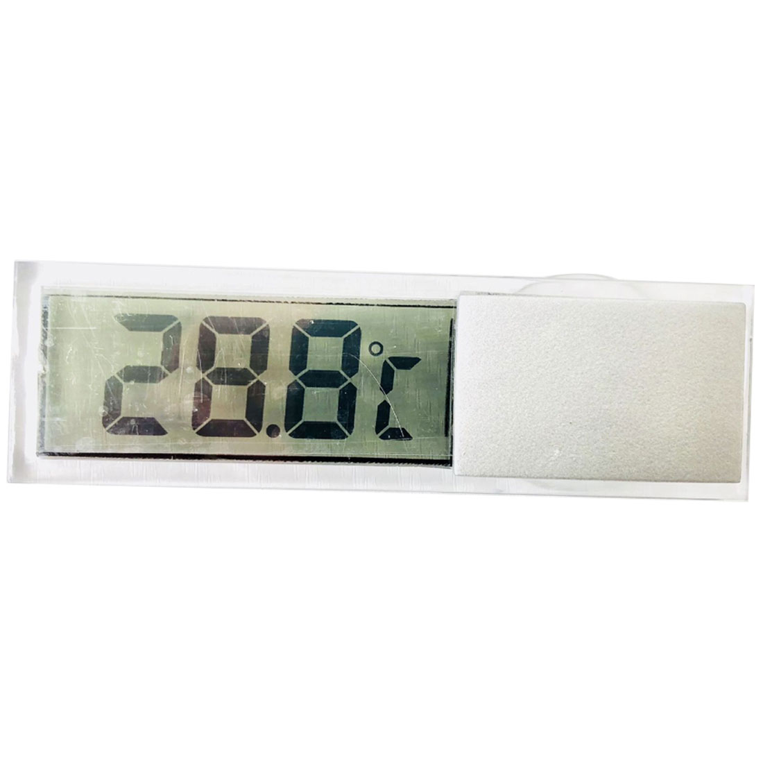 1X LCD Digital LCD Thermometer Temperature Meter Indoor Outdoor Suction Cup Dote