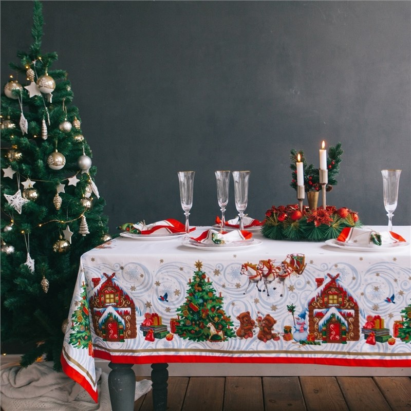 Tablecloth Ethel: Christmas fairy tale christmas fairy talk mix up