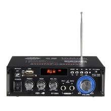 лучшая цена 600W Home Amplifiers Audio Bluetooth Amplifier Subwoofer Amplifier Home Theater Sound System Mini Amplifier Professional