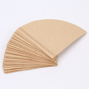 Hot V60 Filter Cup Special 102 Coffee Filter Paper Coffee Filter Papers Unbleached Original Wooden Drip Paper Cone Shape Coff 3