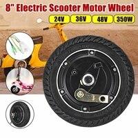 Electric Scooter Hub Wheel Motor Brushless Toothless 8 Wheel Motor 24V/36V/48V DC E Scooter Wheel Bicycle Motor Wheel Dropshipp