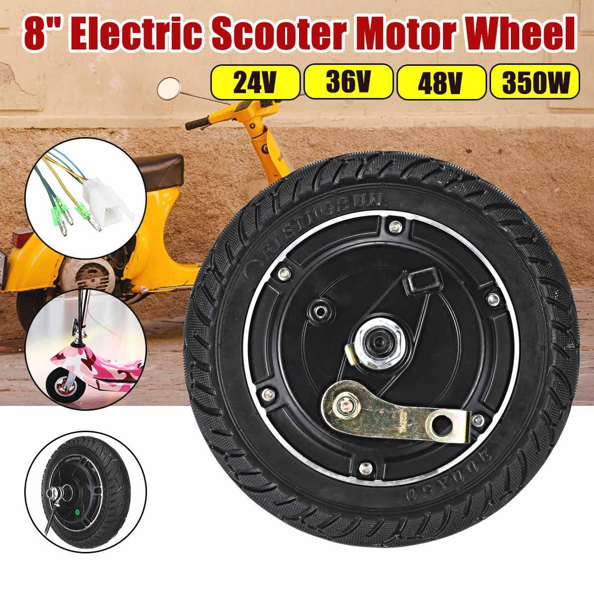 Moteur électrique de roue de moyeu de Scooter sans brosse 8